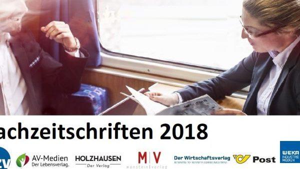 Fachzeitschriften-Report 2018: Entscheider lesen Print