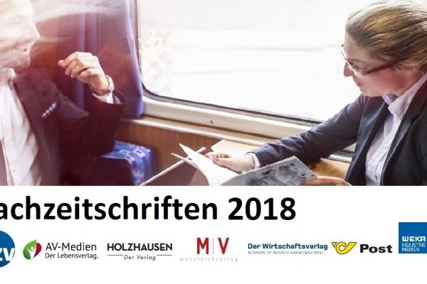 Fachzeitschriften-Report 2018: Print kommt an