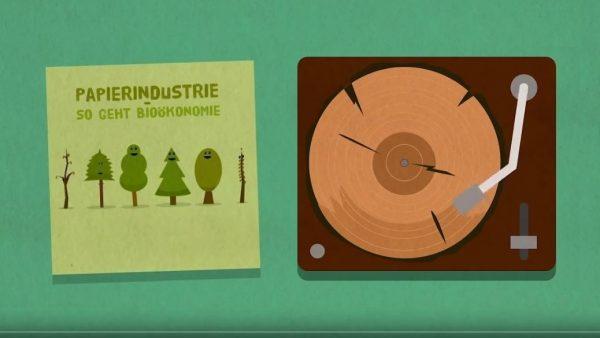 Papier: ein gutes Beispiel für Bioökonomie