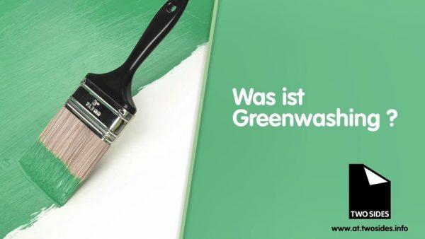 Das ist GreenWashing