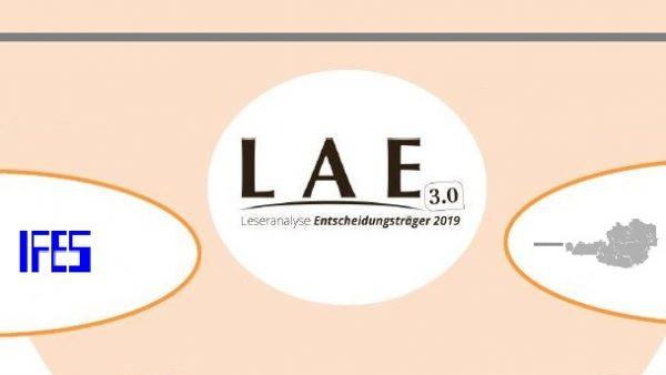LAE19: Entscheider lesen Printmedien